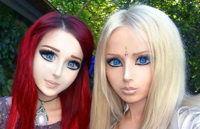 Valeria Lukyanova Real-life Barbie Before and After Plasticsurgery (Images)
